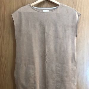 Aritzia Wilfred Free Nori Dress in Camel Size XS